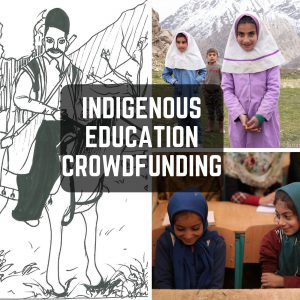 Indigenous Education Crowdfunding