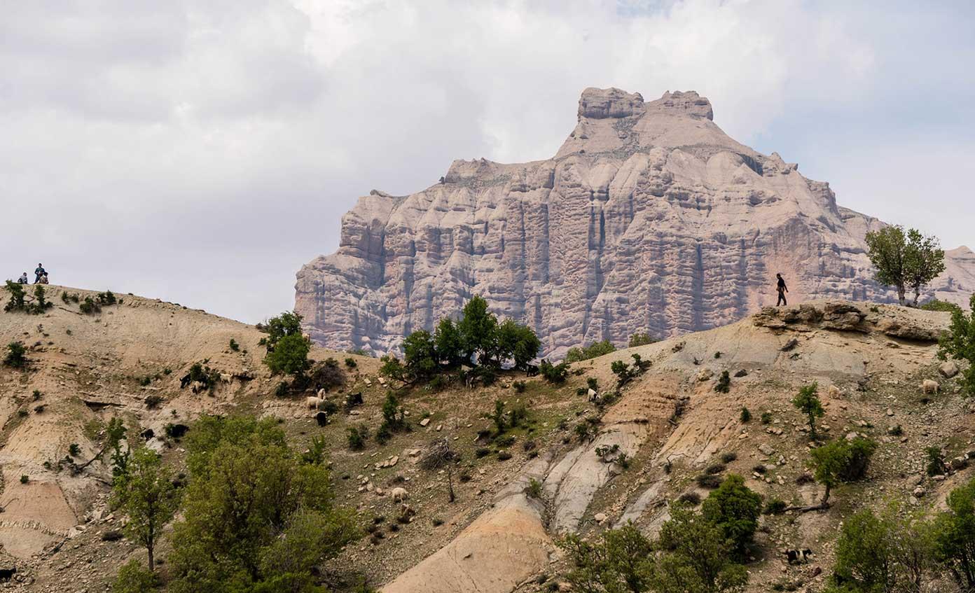 Iran Mountains Zagros Nomad