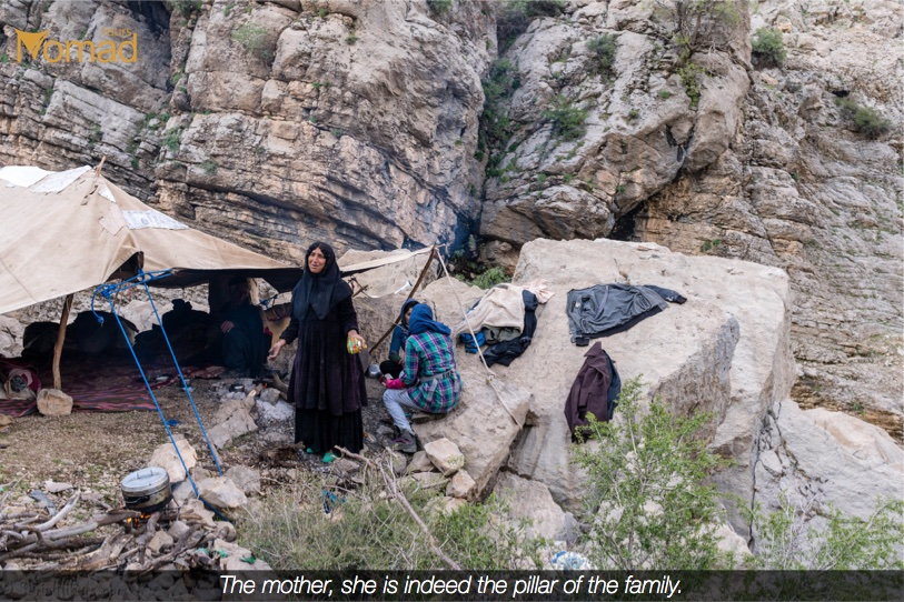 Bakhtiari woman, Safe in Iran