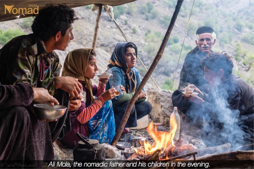 Nomadic Father Bakhtiari