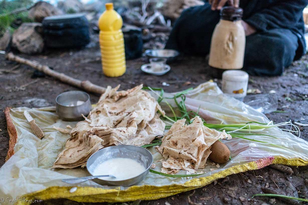 Nomad Breakfast Food Bread Iran