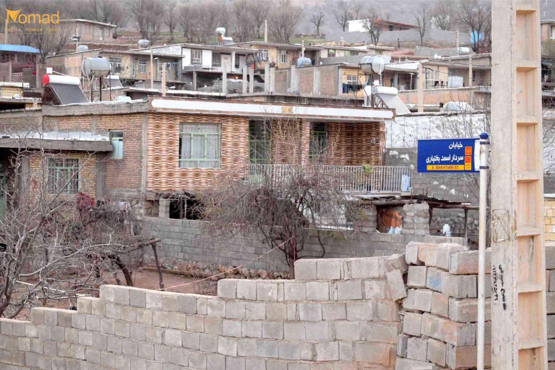 Bakhtiari village Mavarz