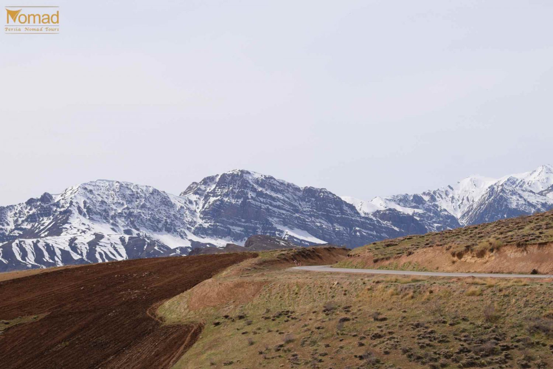 Iran Snowy Zagros Mountains