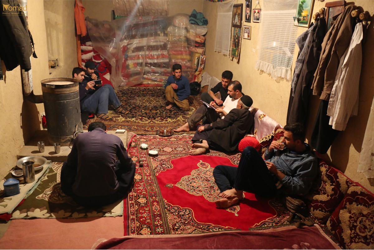 Iranian Bakhtiari Village