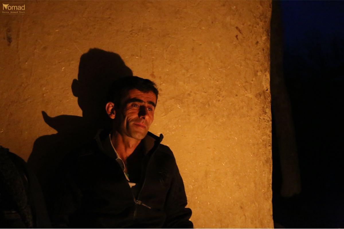 Iranian Bakhtiari man