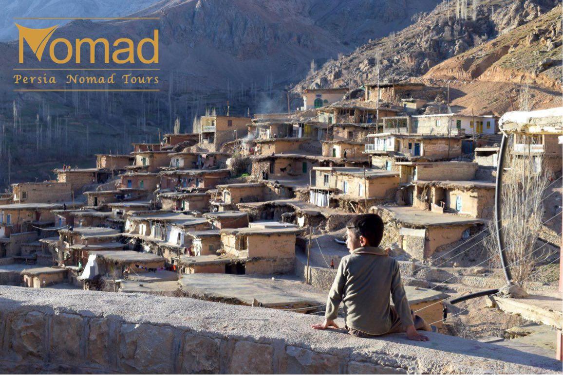 Sar Agha Seyed village off the beaten track Iran