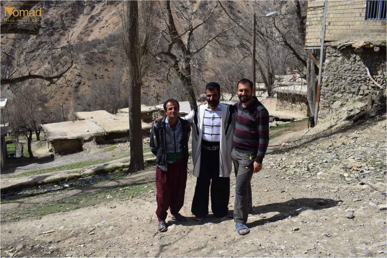 Warm welcome from Bakhtiari people