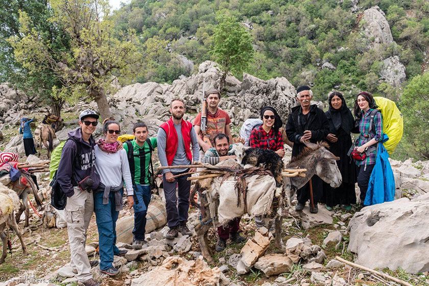 Migration Adventure with nomads of Iran (Bakhtiaris)