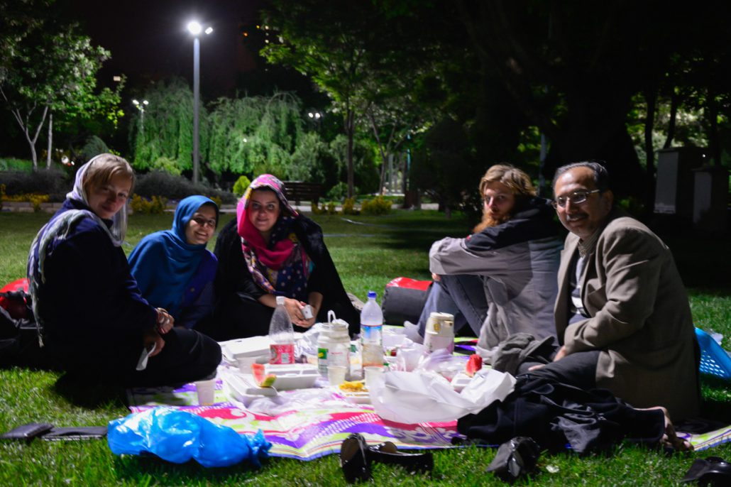An Iranian afternoon, a simple adventure