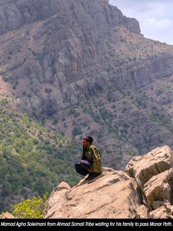 Watching Monar path, Bakhtiari tribes Iran nomads, nomad tours