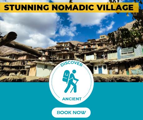 Stunning nomadic village