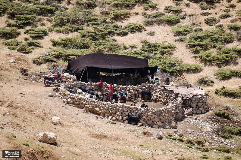 iranian nomad family