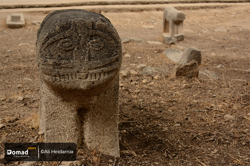Lion Tombstones-Lur Tribes-Iran Nomad Tours