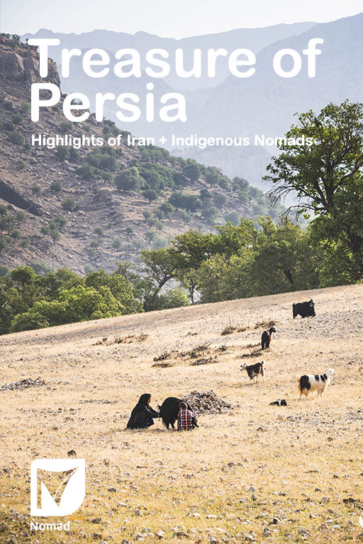 Treasure of Persia Booklet - Iran Nomad Tours