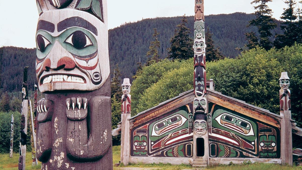 Tlingit Tribe - Hunter Gatheres