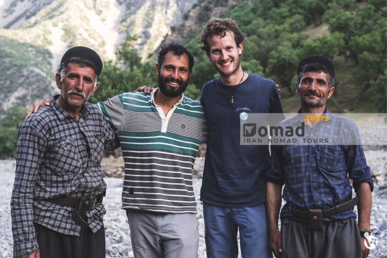 meeting authentic nomads of Iran