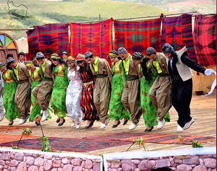 Halparin Kurdish dance-Nomads of Iran