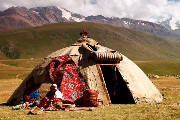 Shahsevans' tents- Iran Nomad Tours