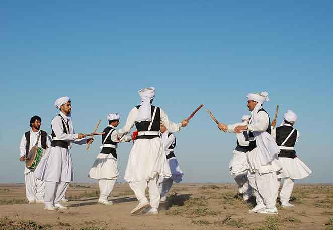sword dance persian-Balouch Tribe-Iran Nomad Tours