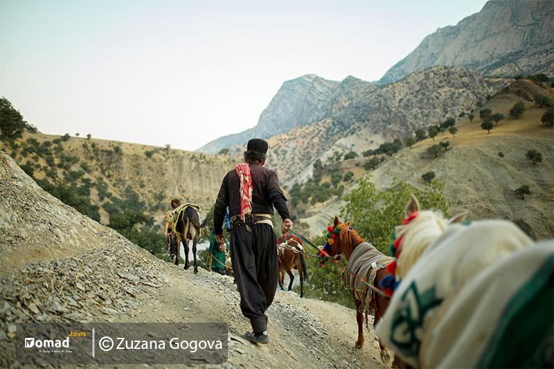 Kuch Bakhtiari nomads