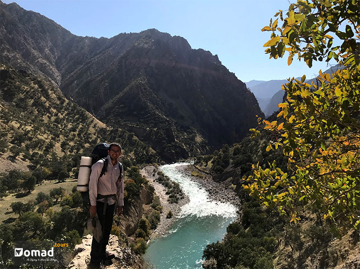 Long Bakhtiari River