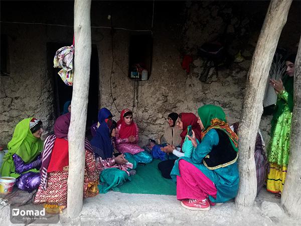 Nomad Women Singing Traditional Lori songs