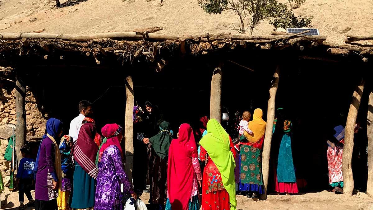Nomadic Wedding iran nomad tours