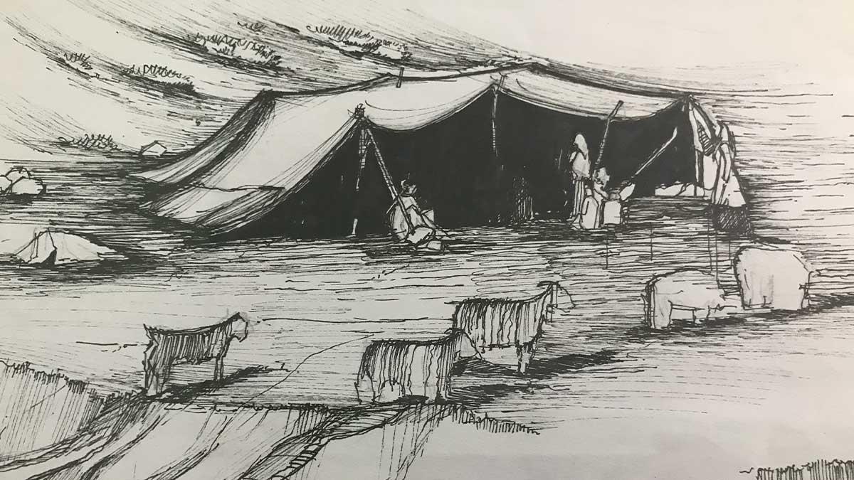 bakhtiari nomad tent iran nomad tours