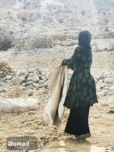 bakhtiari woman iran nomad tours