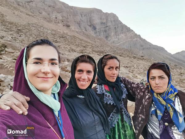 iranian nomad woman