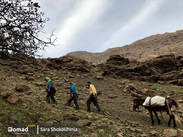 Hiking in nomadic land-Baba tour