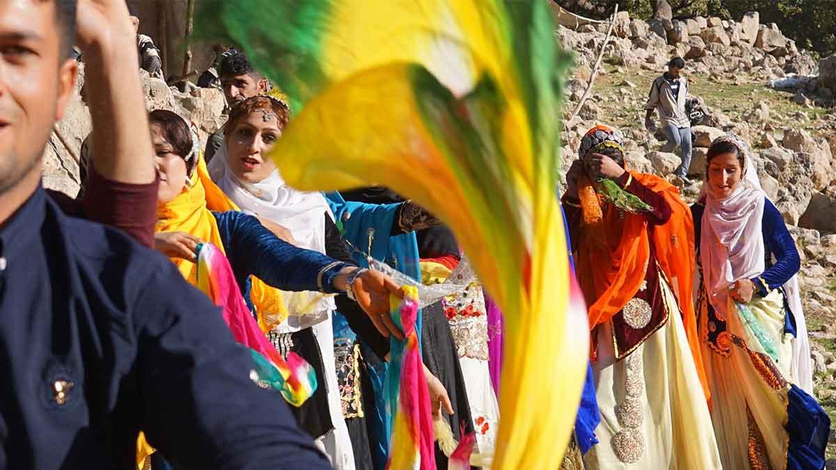 nomadic wedding among bakhtiari wedding