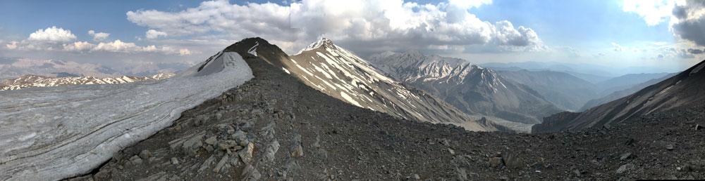 beautiful landscape of zagros mountain range