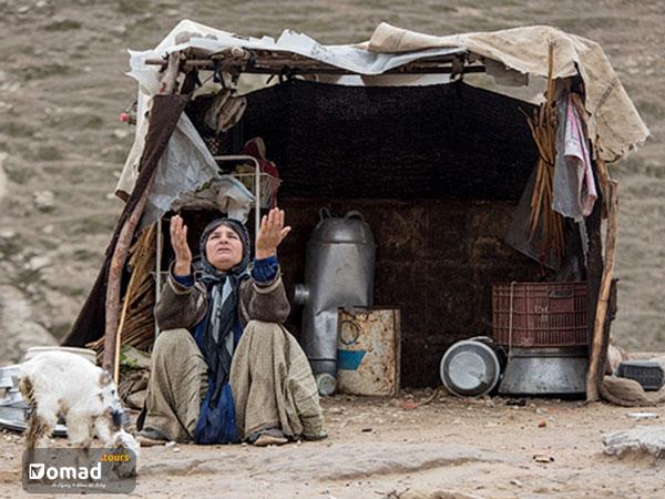 iranian qashqai nomadic woman
