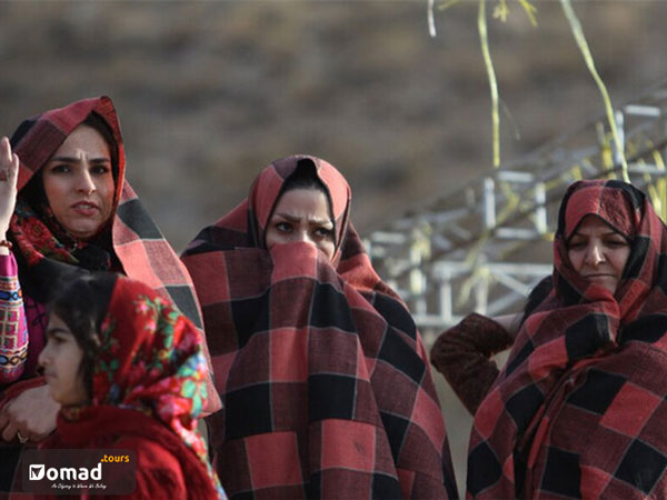 women of sang-e sar nomads in iran