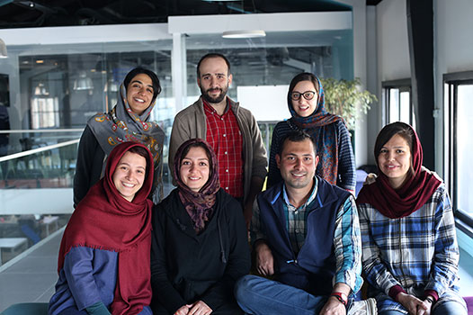 Iran Nomad Tours Team Members