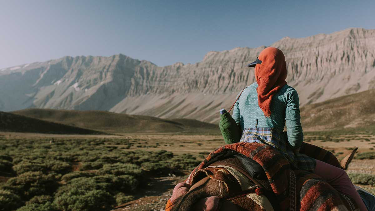 Zuzana Gogova-Iran nomad tours