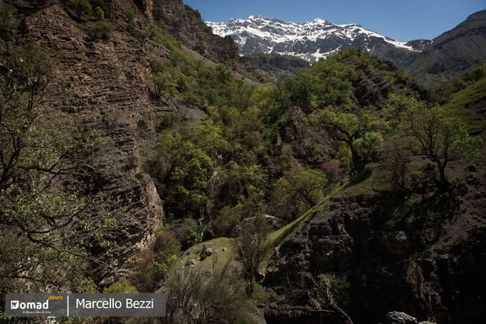 beautiful landscape of zagros mountains