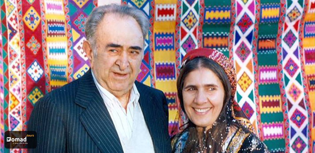 Mohammad Bahmanbeigi and his wife