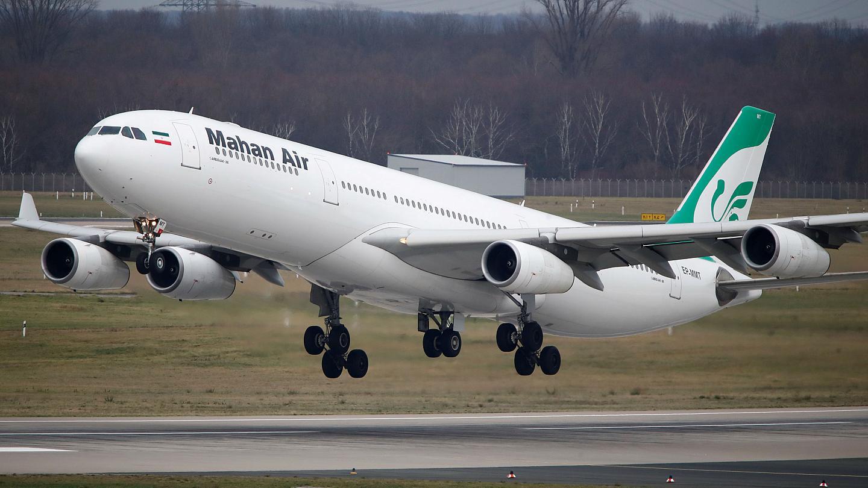 An Iranian airplane