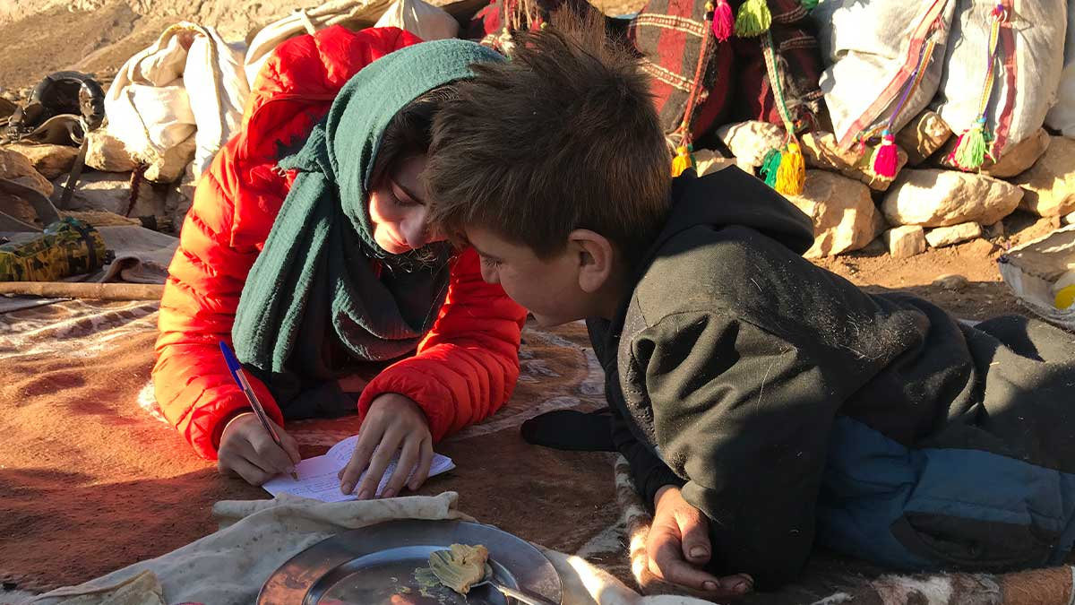 Emily Garthwaite & Kianoush, a Bakhtiari nomads