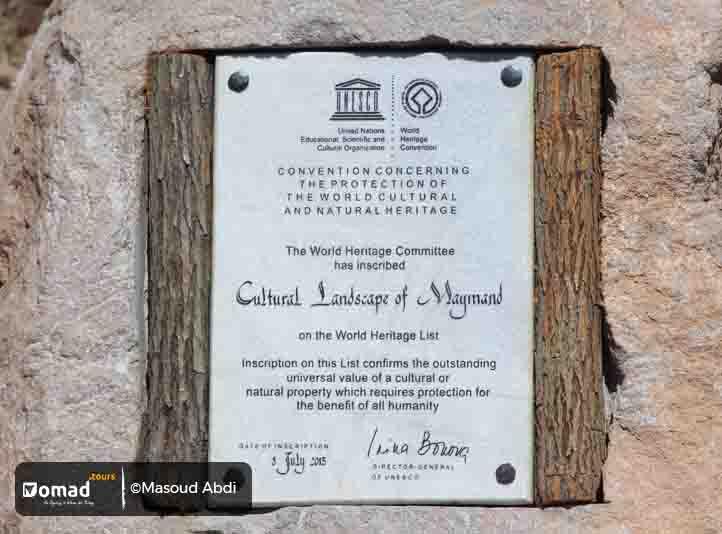 UNESCO-registered Maymand Village