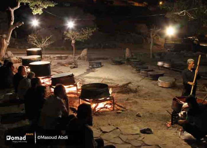 Making Nazri in Ashura